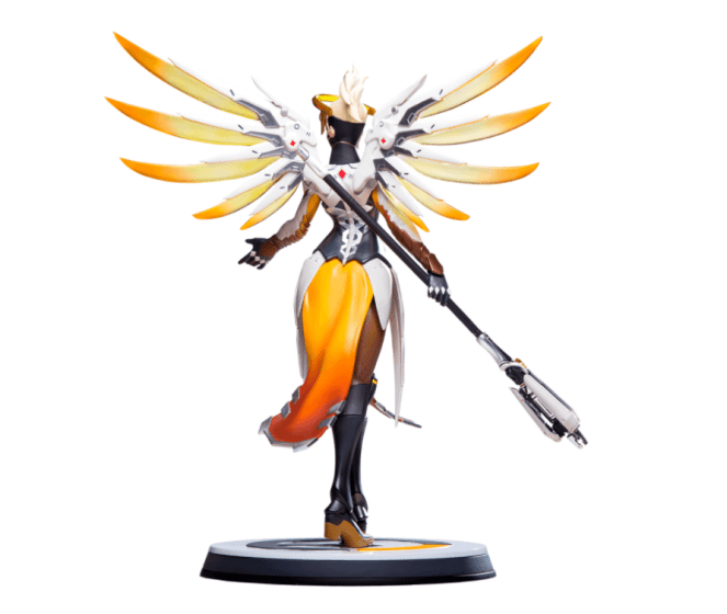 overwatch mercy statue full 3