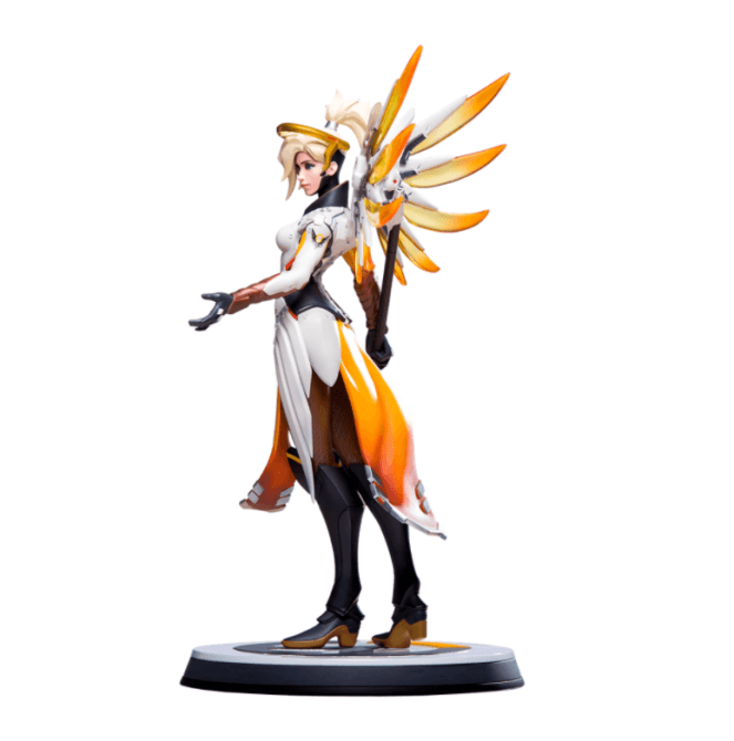 overwatch mercy statue full 4