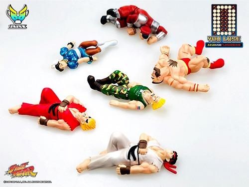 street fighter II you lose flash drive 3