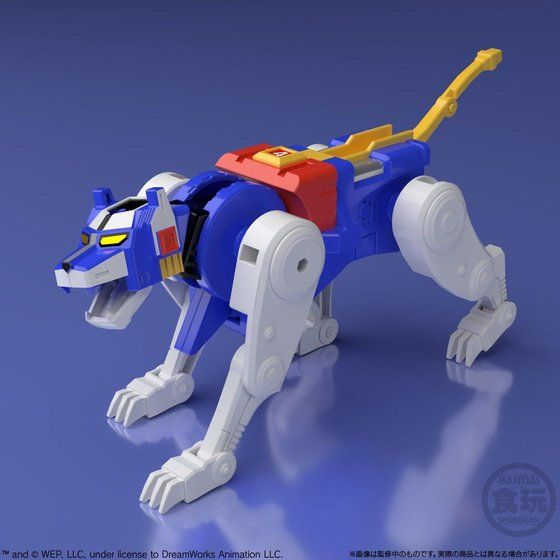 super minipla voltron blue lion