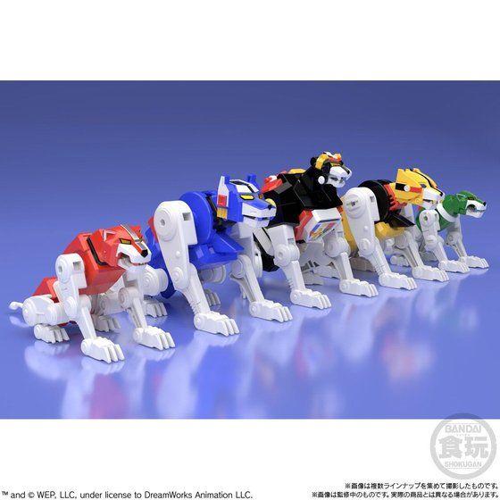super minipla voltron lions 1