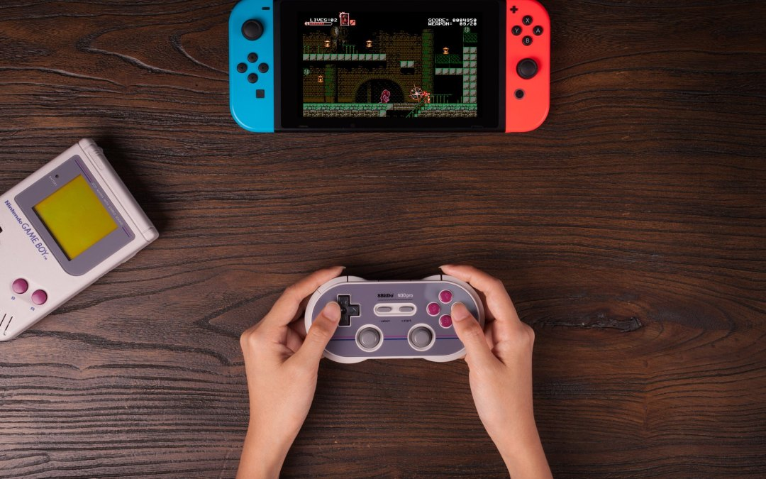8bitdo Showcases New Line of Wireless Gaming Controllers