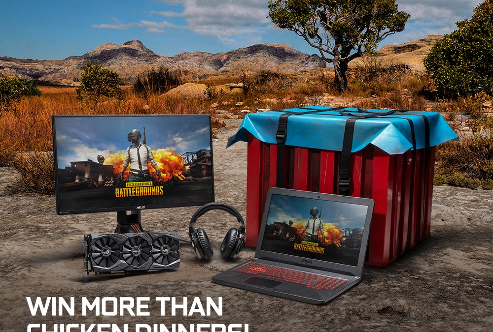 Grab an ASUS GeForce 10 Series Graphics Card and Win an Exclusive PUBG Loot Crate