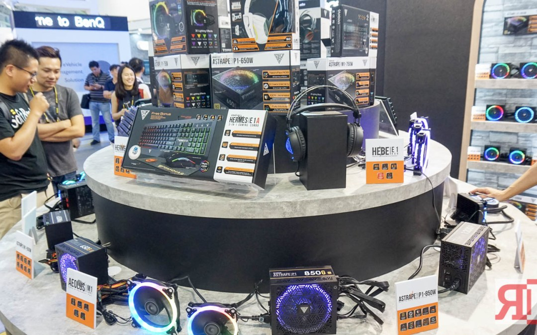 Check out Gamdias' Newest Gaming Gear at Computex 2018