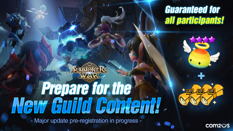 "Summoners War Opens a Pre-registration for its Upcoming Major Update ""Tartarus' Labyrinth""!"