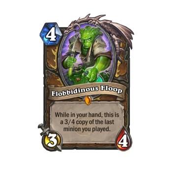 Hearthstone_The Boomsday Project_New card_Flobbidinous Floop
