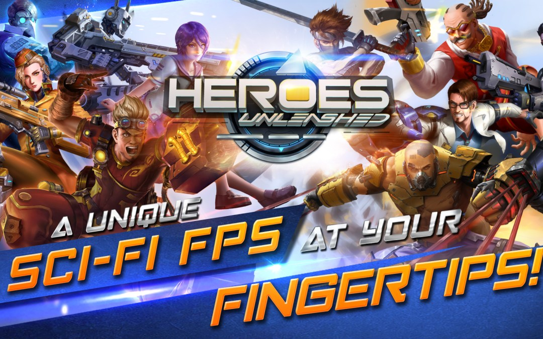 Heroes Unleashed – Mobile MOBA FPS launches for Asia