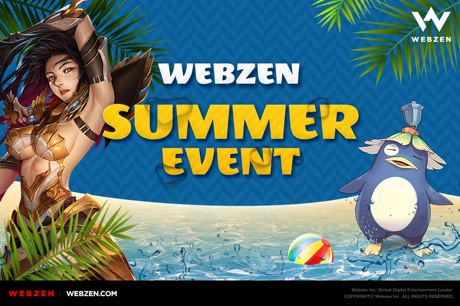 WEBZEN Launches a Summer Event and New Content Updates for Its Games