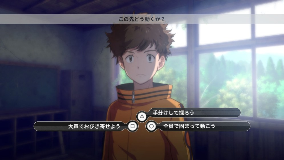 digimon survive conversation