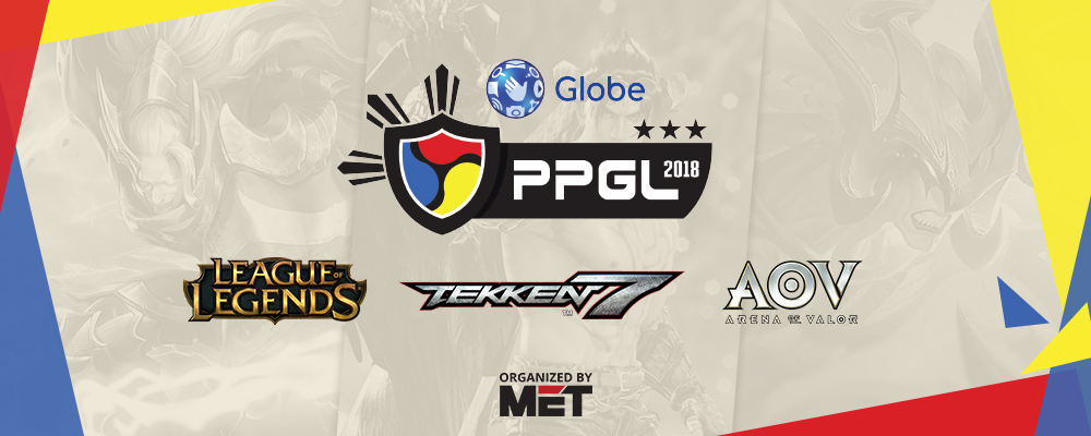 League of Legends, Tekken 7, and Arena of Valor Confirmed for Third Season of Globe Philippine Pro Gaming League