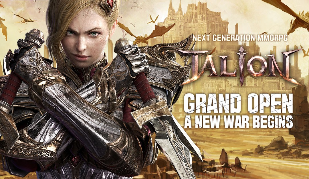 GAMEVIL launches TALION Mobile MMORPG in South East Asia regions