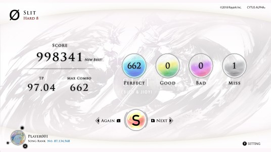 cytus a gameplay
