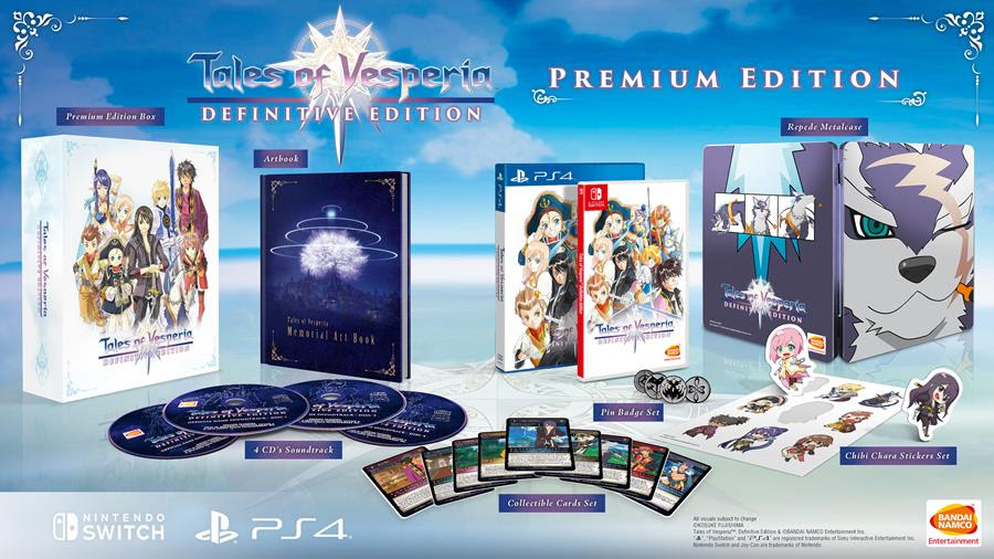 Check Out the Premium Edition of Tales of Vesperia: Definitive Edition