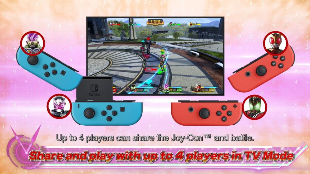 Play Mode_4 players