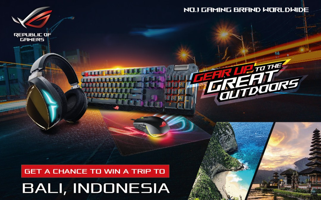 Join ASUS Republic of Gamers' Gear Up to the Great Outdoors Photo Contest