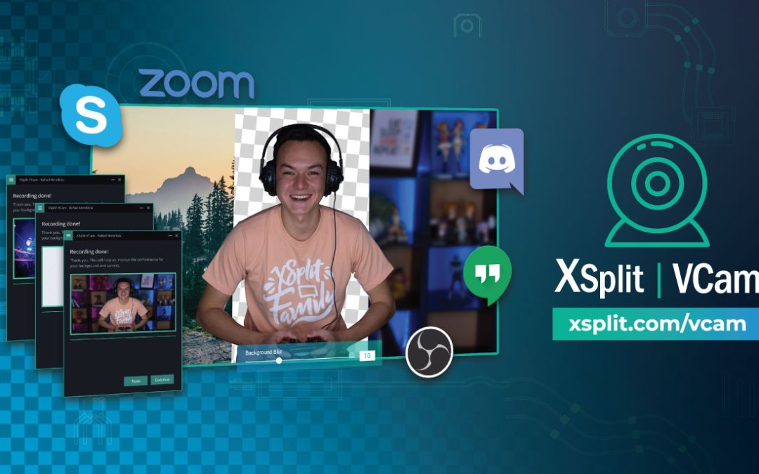 XSplit Launches Brand New VCam