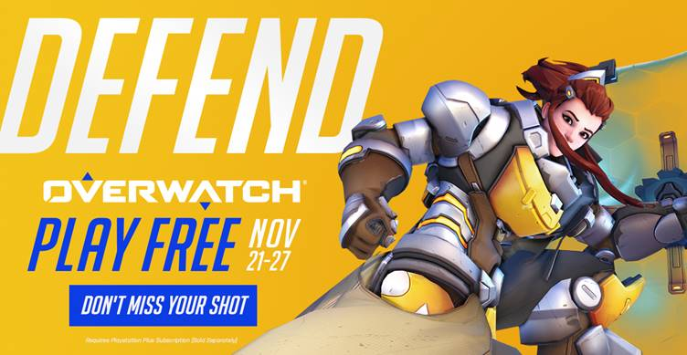 Overwatch's November 2018 Free Trial Starts Tomorrow