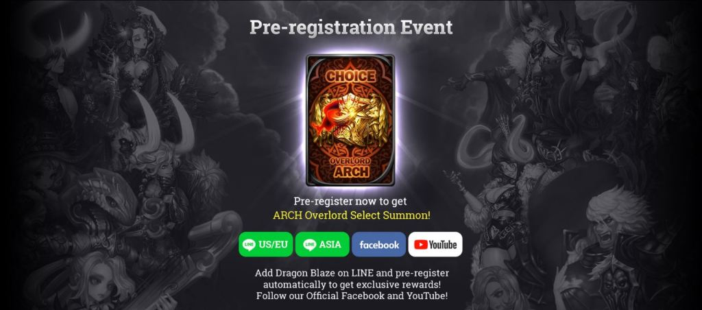 Dragon Blaze season 6 Update Starting Pre-registration