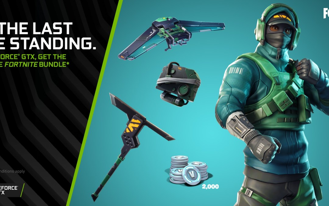 Get Free Fortnite Premium Gear when you buy an Nvidia Geforce GTX Card