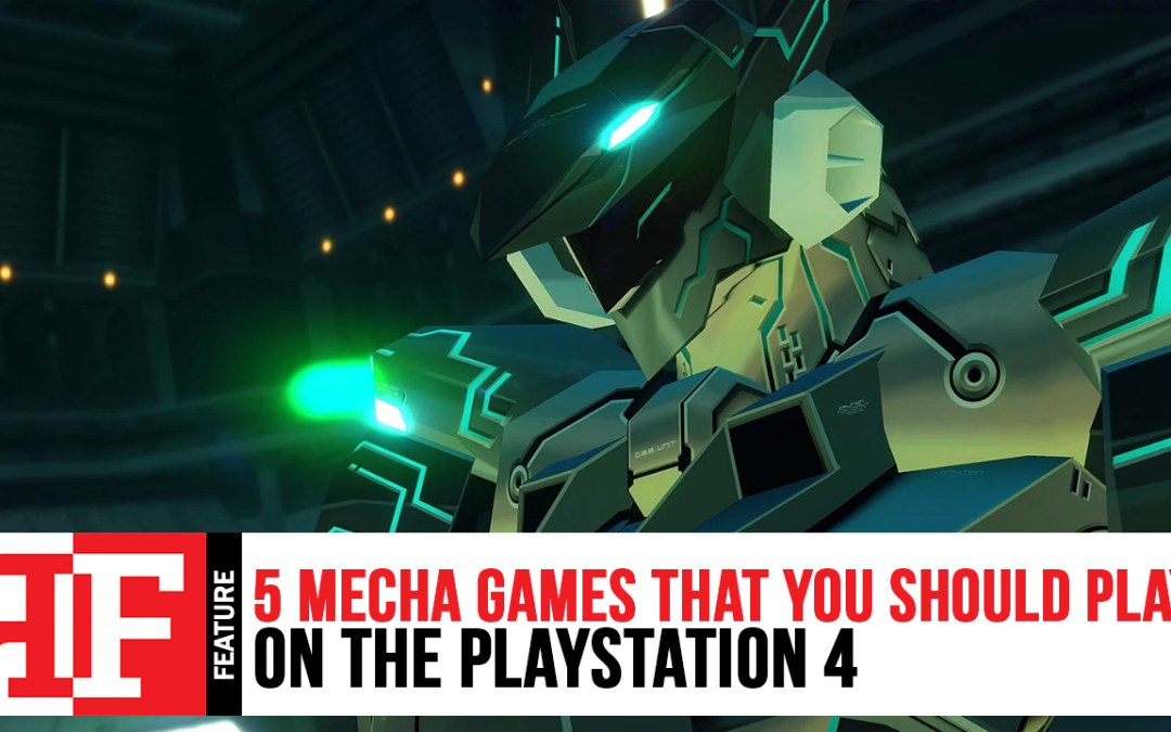 5 Mecha Games that you should play on the PlayStation 4
