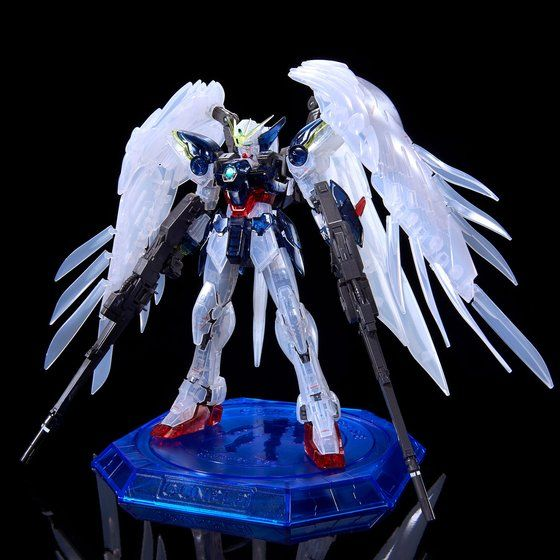 P Bandai RG Wing Gundam Zero Custom EW Clear Color 1