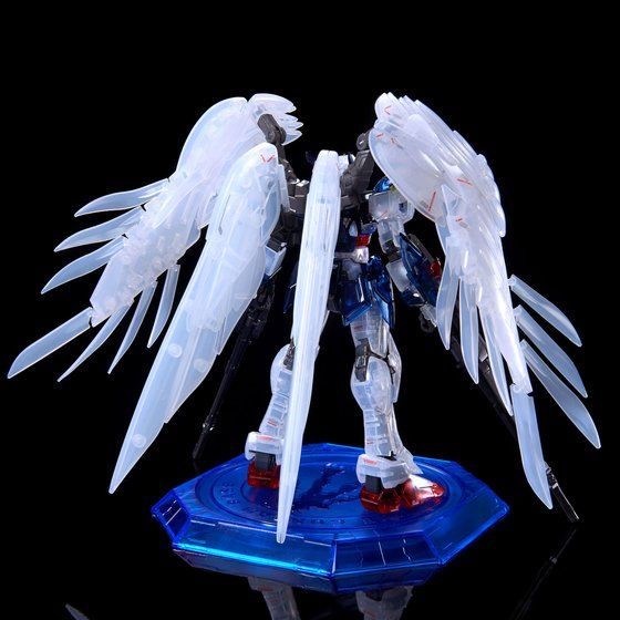 P Bandai RG Wing Gundam Zero Custom EW Clear Color 2