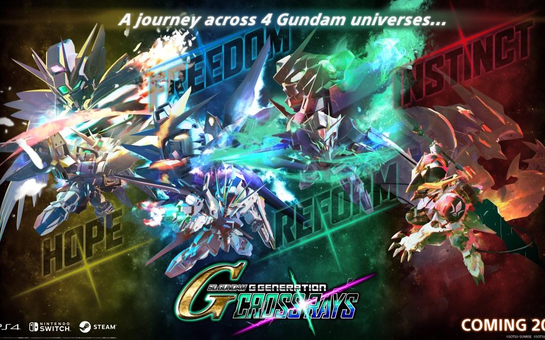 SD Gundam G Generation Cross Rays Announced!