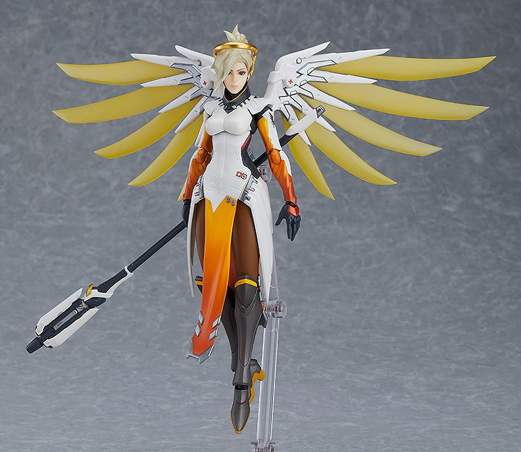 Heroes Indeed Never Die with this Figma Mercy
