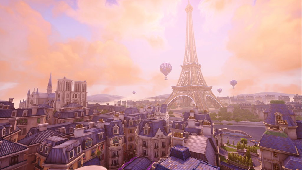 Overwatch Paris Assault Map is Now Available