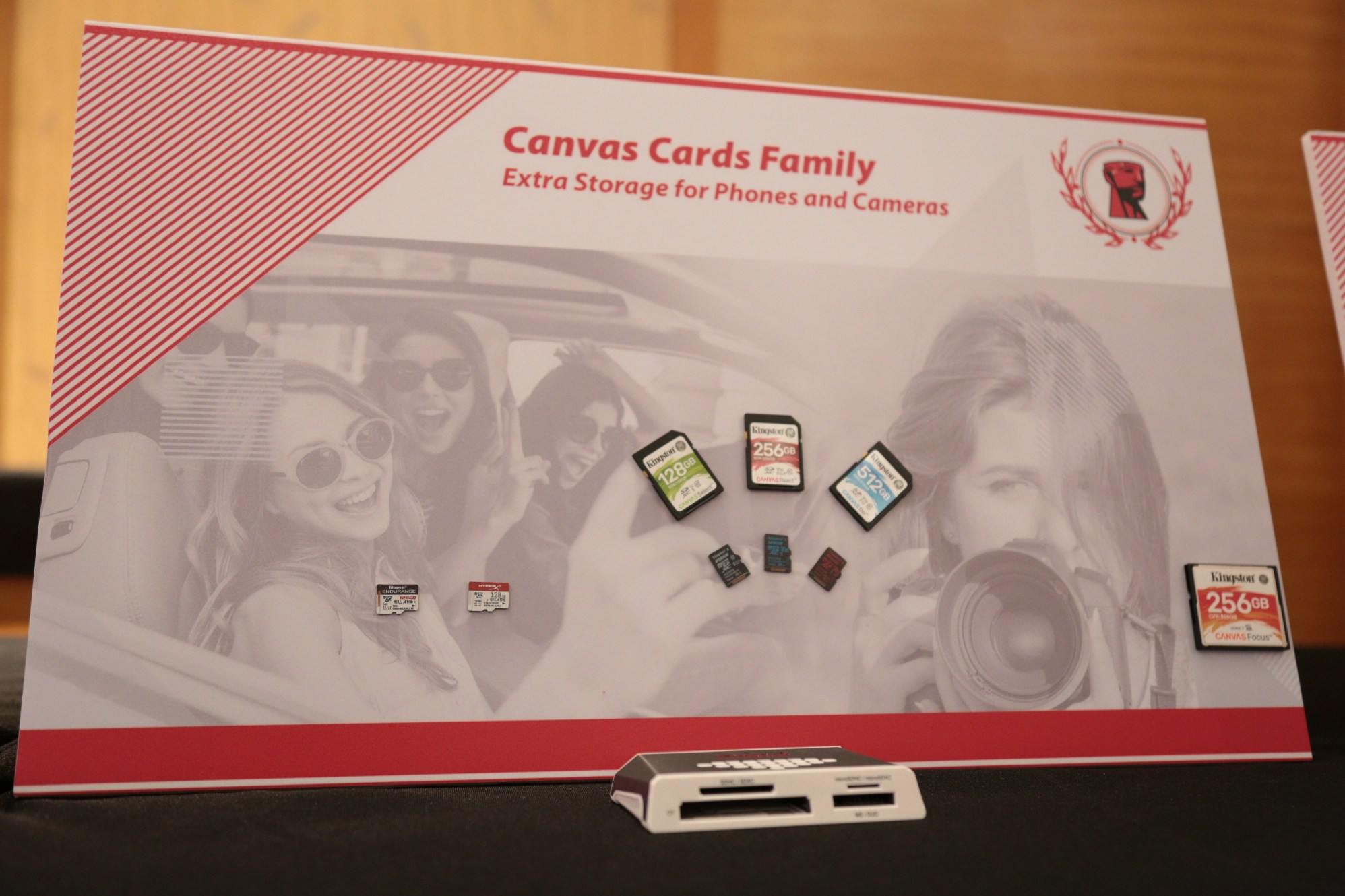Canvas CArd Family Image