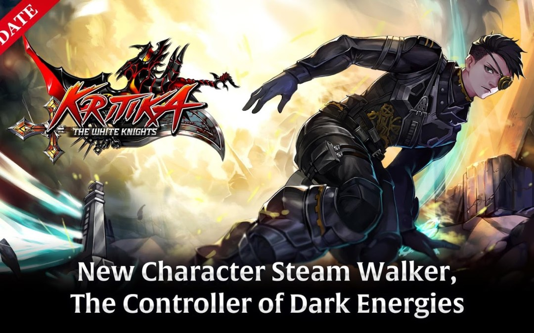 New Character Steam Walker introduced in the major update of Kritika