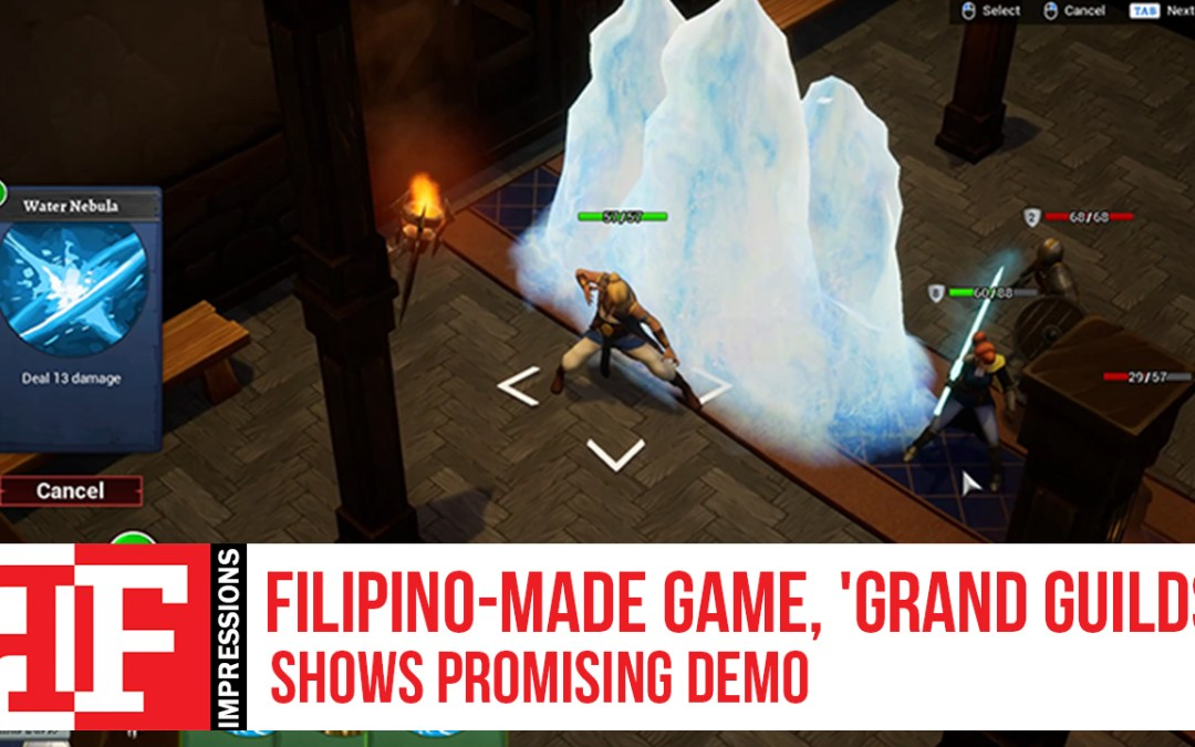 Filipino-Made Game, 'Grand Guilds' Shows Promising Demo