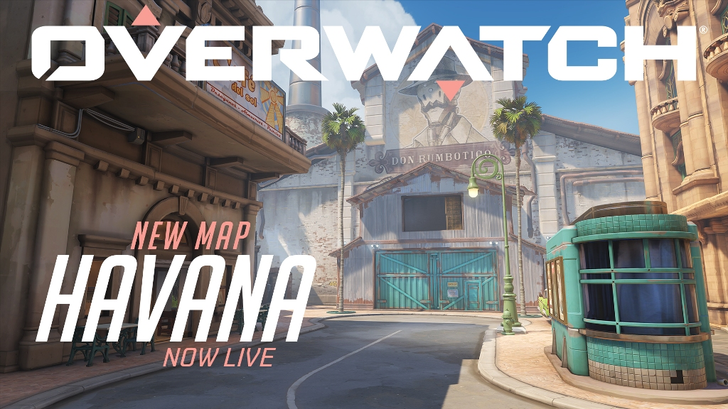 Overwatch's Havana Map Now Live