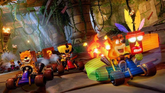 Crash Team Racing Nitro-Fueled is Out Worldwide