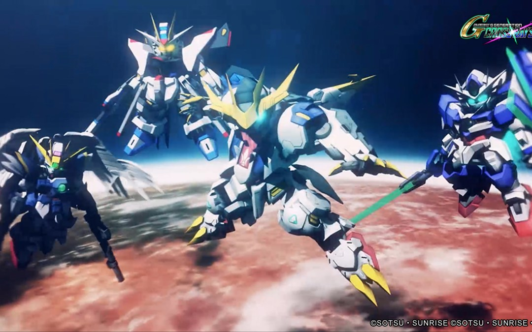 SD Gundam G Generation Cross Rays release date confirmed for 28 November 2019