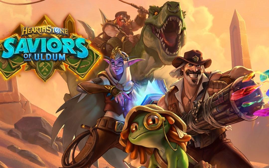 Hearthstone's Saviors of Uldum is Now Available