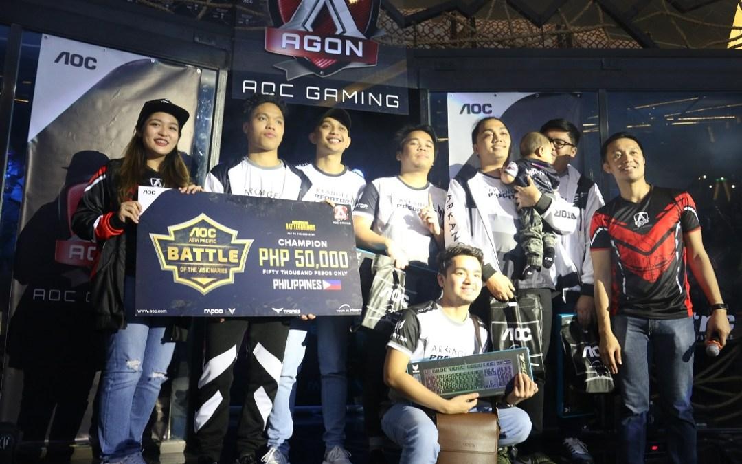Battle of the Visionaries: AOC Pan-Asian Internet Café Esports Tournament