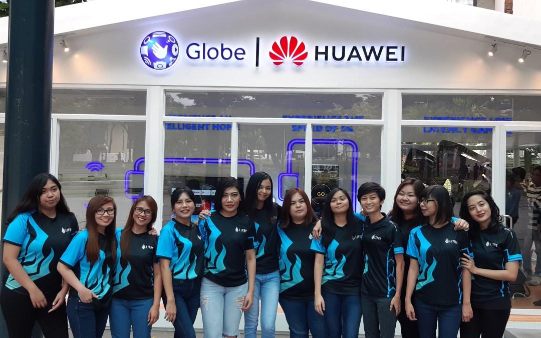 Globe and Mineski introduces the all-female team Haliya