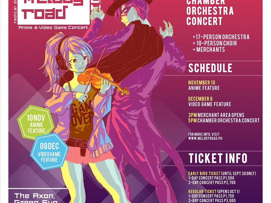 MELODY ROAD 2019: A Video Game and Animé Concert