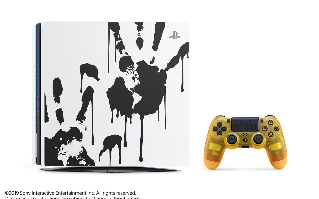 PlayStation 4 Pro DEATH STRANDING Limited Edition Revealed