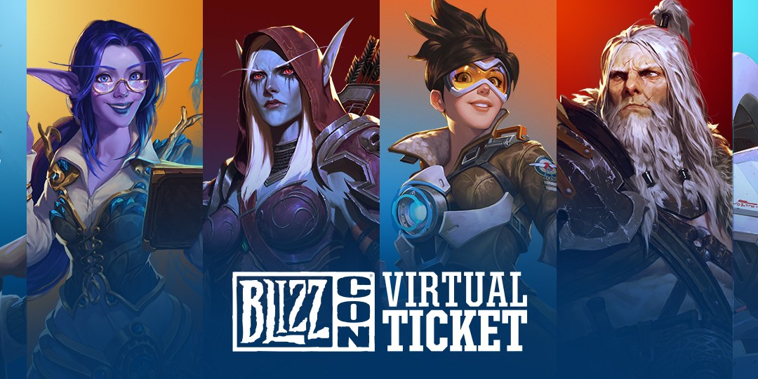 Experience BlizzCon from Home with the Virtual Ticket