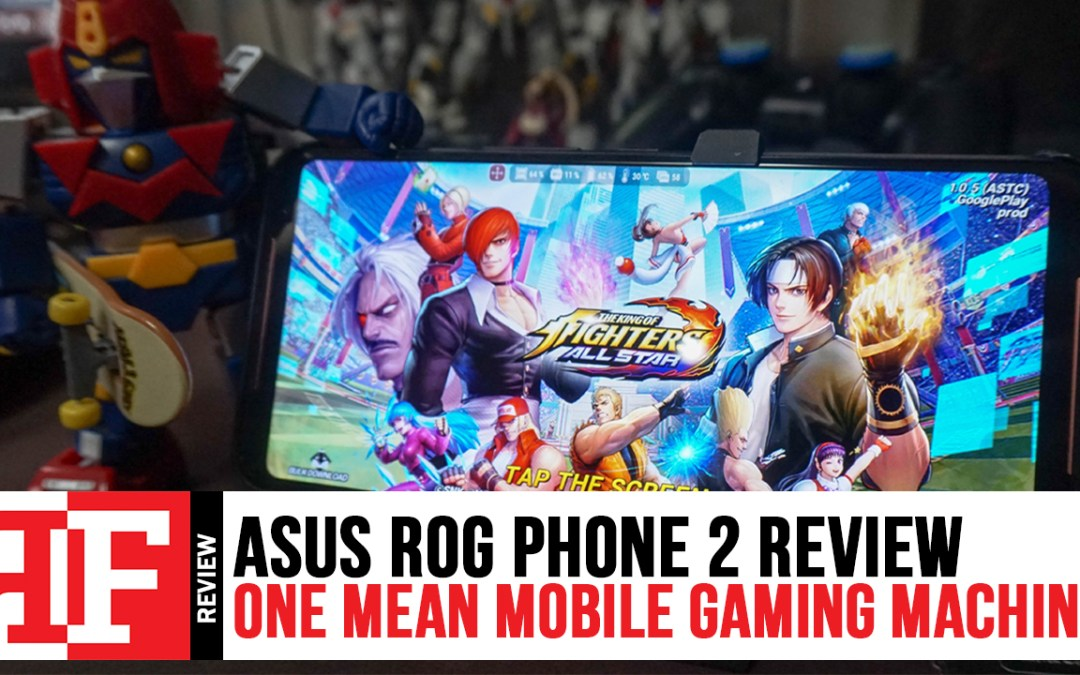 Asus ROG Phone 2 Review: One Mean Mobile Gaming Machine