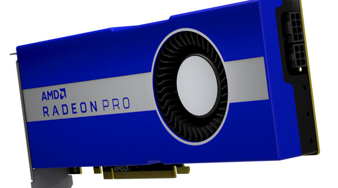 AMD Launches Radeon Pro W5700