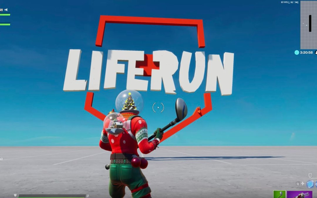 International Red Cross Teams up with Fortnite Streamers for the Liferun Creative mode