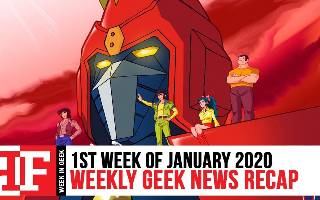 Week in Geek: Week 1 – January 2020