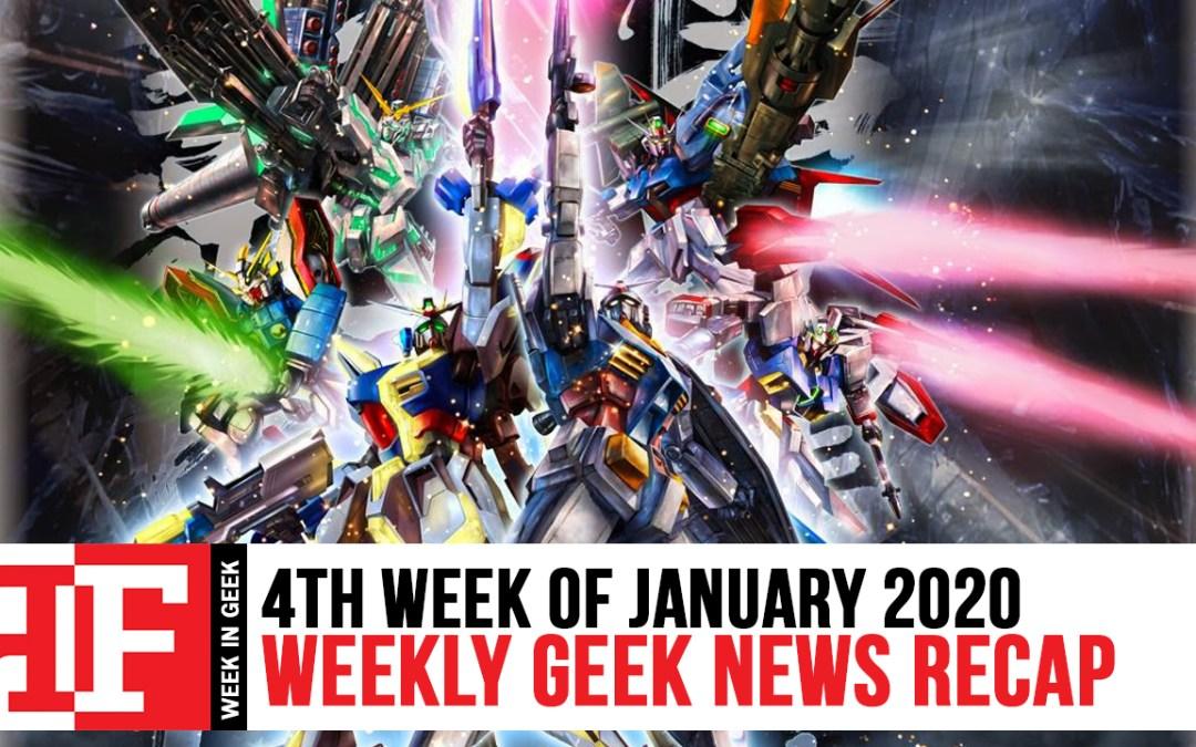 Week in Geek: Week 4 – January 2020