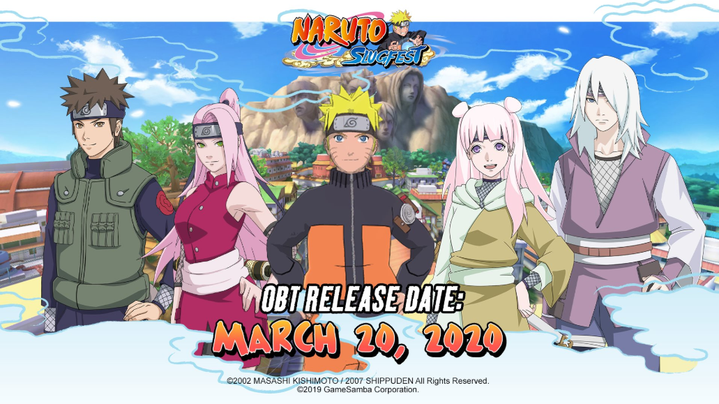 Naruto: Slugfest Launching on March 20