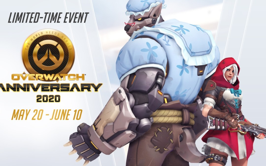 Overwatch Anniversary 2020 Event is Now Live