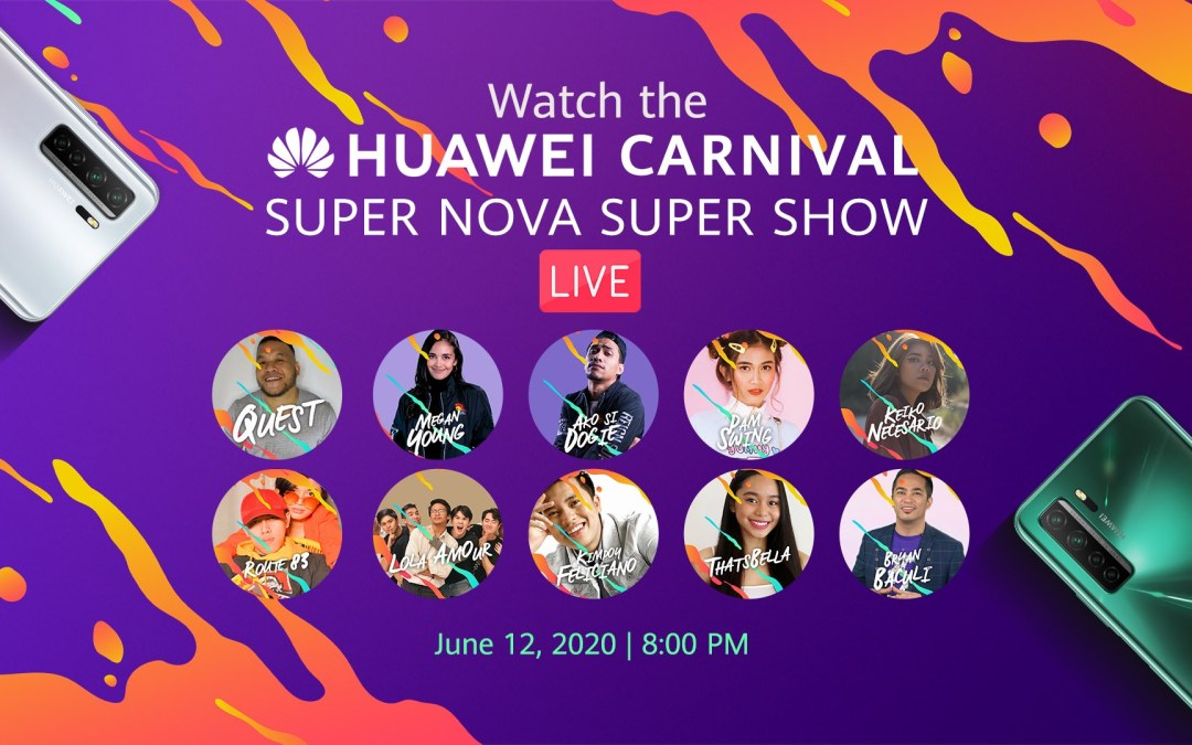 Huawei's Super Nova Super Show is Happening Tomorrow at 8PM