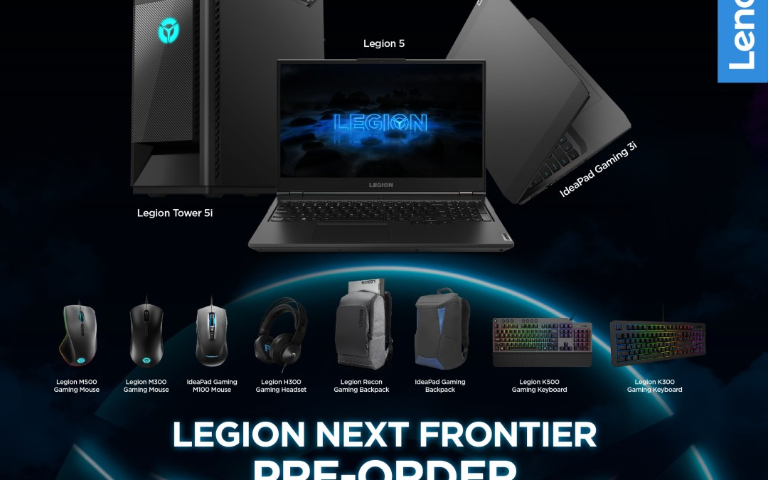 Pre-order the new Lenovo Legion devices and get exciting accessory bundles for free